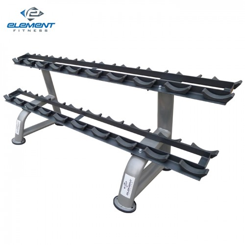 Element Fitness Commercial Round Dumbbells Rack