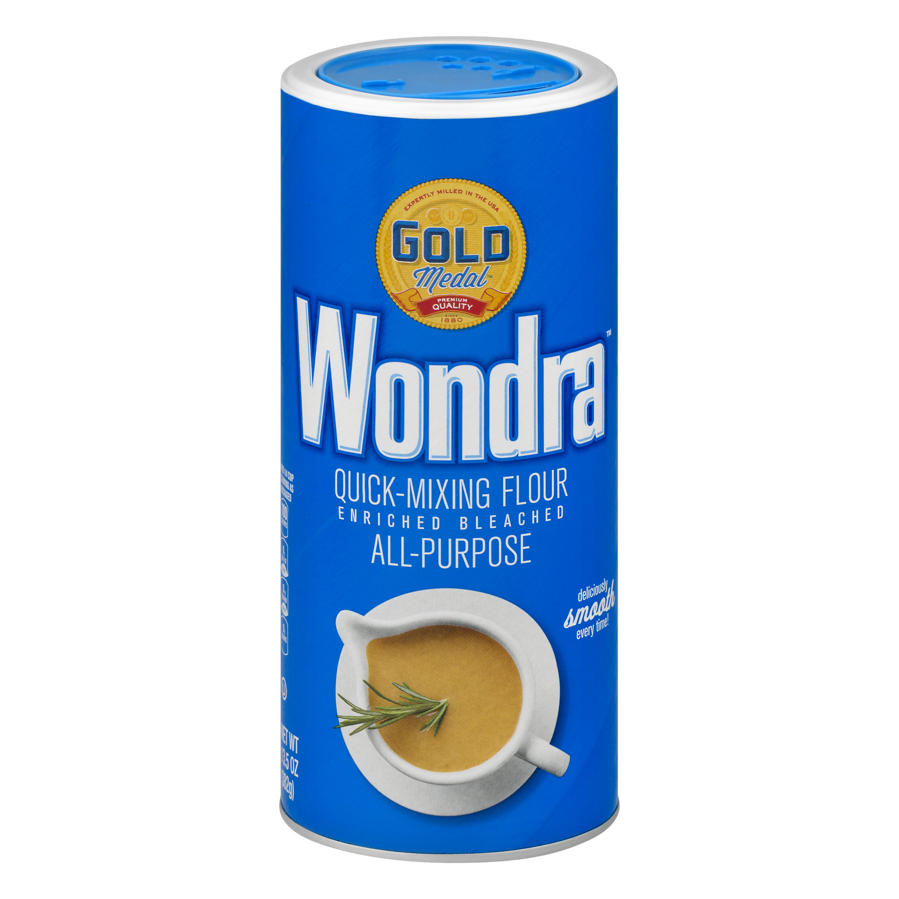 Gold Medal® Wondra Quick Mixing Flour 13.5 oz Canister, 13.5 OZ