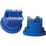 Green Leaf LU 80-03 6PK Multi-Range Universal Flat Spray Nozzle, Polyoxymethylene, Blue, For Y8253048 Series 8 mm Cap