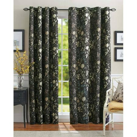 Better Homes and Gardens Calista Print Room Darkening Curtain ...