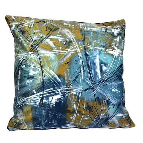 Debage Inc. Mirasol The Universe Feather Throw Pillow (Set of 2)