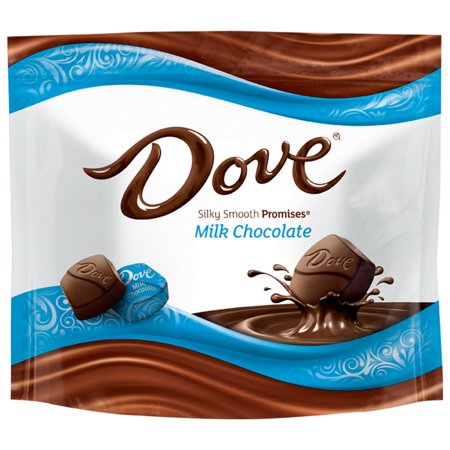 Dove 361569 Dove Milk Chocolate Promises Stand Up Pouch 8.46 Ounce 8/Count
