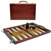 Classic Wood Backgammon Set, Large