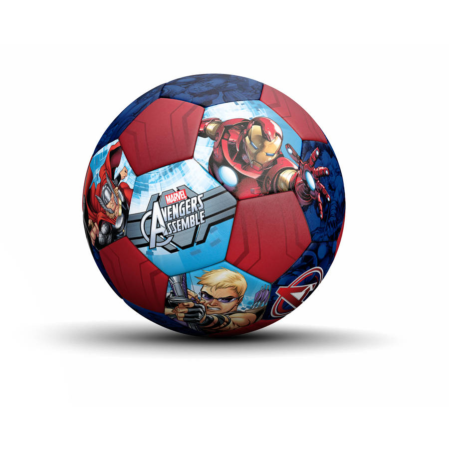 Jr Athletic Avengers Assemble PVC Soccer Ball by Overstock