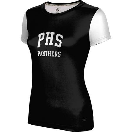 Prosphere Womens Permian High School Crisscross Tech Tee