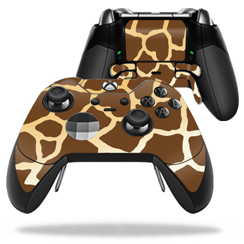 MightySkins Protective Vinyl Skin Decal for Microsoft Xbox One Elite Wireless Controller case wrap cover sticker skins Giraffe