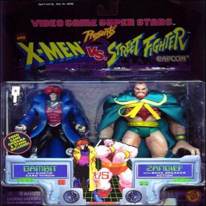 X-Men VS. Street Fighter Gambit Vs. Zangief by