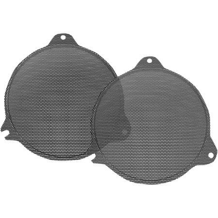 Hogtunes FLH Speaker Grill Replacement Black (SG RM (Best Humbuckers For Sg)