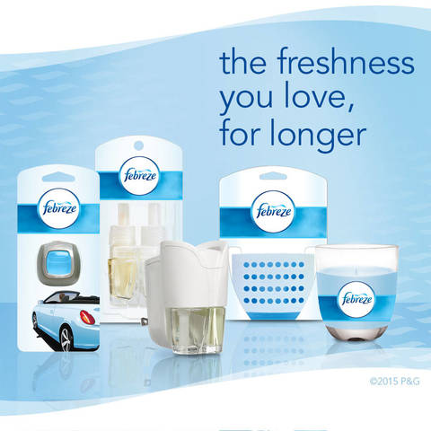 Febreze Linen & Sky Collection