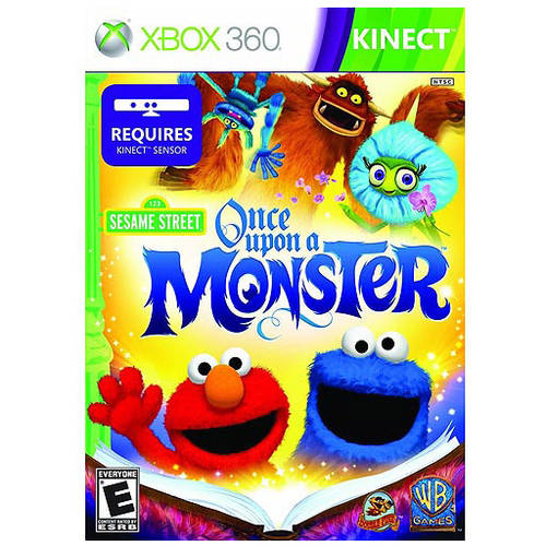 Sesame Street: Once Upon A Monster Kinect (Xbox 360) - Pre-Owned