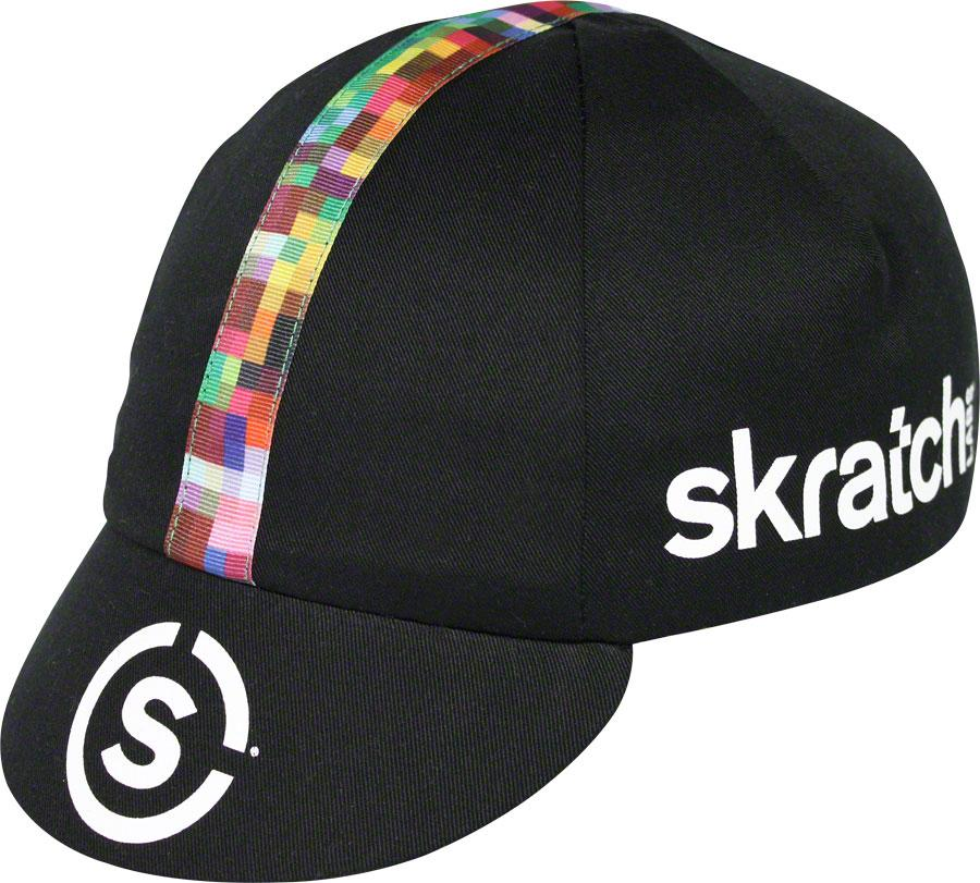 Pace Sportswear Skratch Labs Cycling Cap: Black
