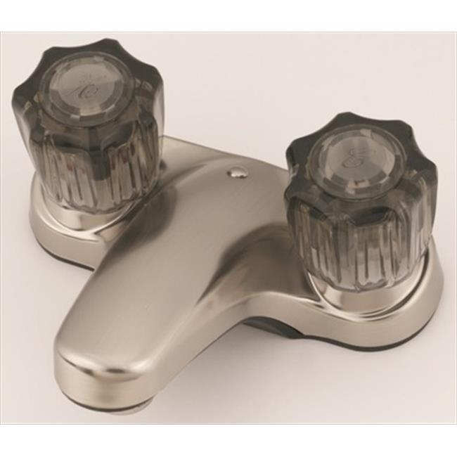 AMER BRASS CJW77N 4 inch Nickel Lavatory Faucet
