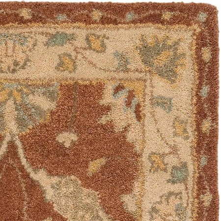 Safavieh Antiquity Rihanna Hand-Tufted Wool Area Rug, Brown/Taupe