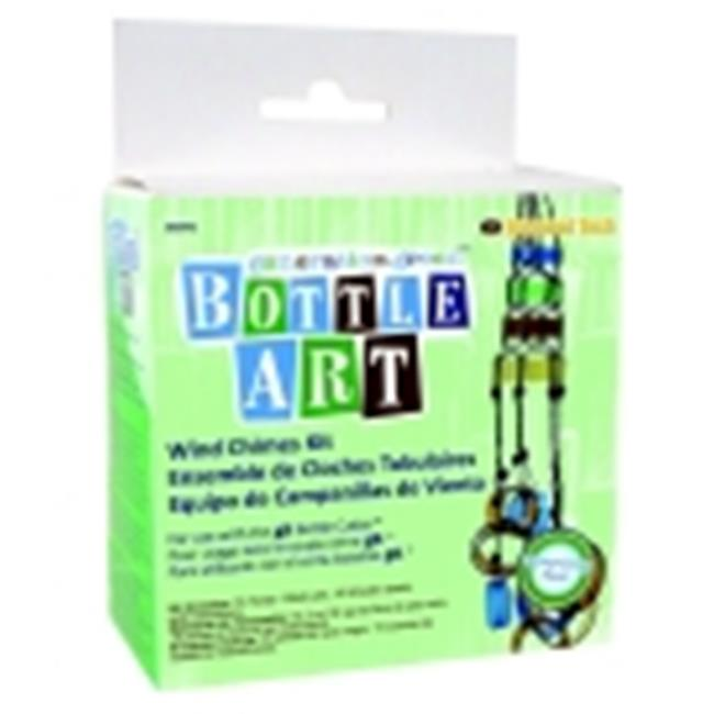 Diamond Tech Generation Green Bottle Art Wind Chime Kit