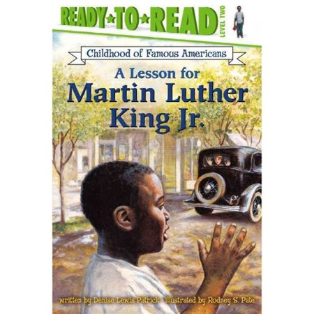 A Lesson for Martin Luther King Jr. by