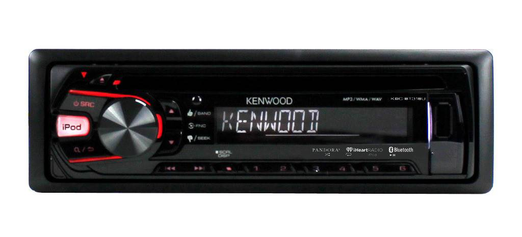 New Kenwood KDC-BT318U In-Dash 1-DIN CD AUX/USB MP3 Car ... on kenwood home stereo system, kenwood car audio, kenwood kdc mp232, kenwood kdc 2019 wiring harness,