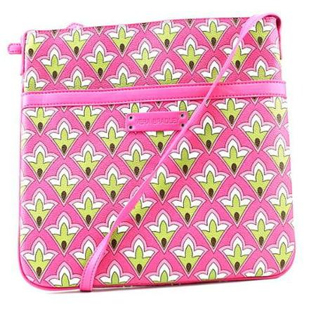 Vera Bradley Slim Trim Hipster Crossbody Bag  Petite Pink
