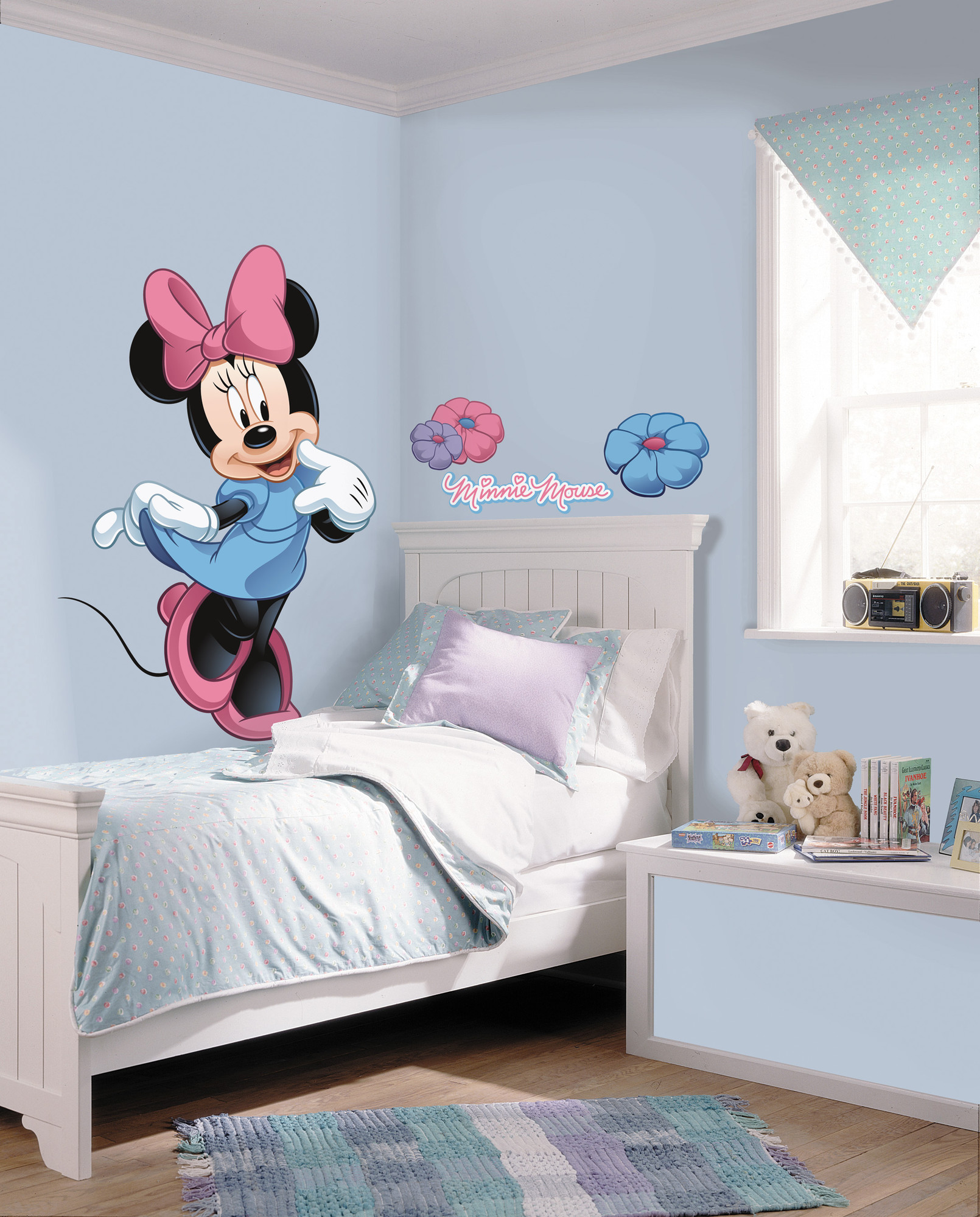 Room Mates Mickey and Friends Minnie Mouse Wall Decal ...