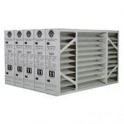 Lennox X6670 16x25x5 MERV 11 Furnace Filter - 5 Pack