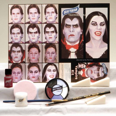 Vampire Makeup Kit Adult Halloween Accessory