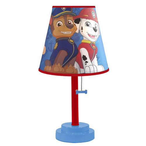 PAW Patrol Die-Cut Table Lamp by Nickelodeon