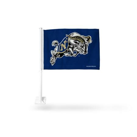 - US Naval Academy Midshipmen NCAA Licensed 11X14 Window Mount 2-Sided Car Flag
