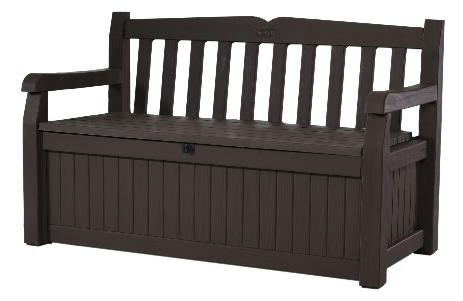 Keter Eden Outdoor Resin Storage Bench, All Weather Plastic Seating And  Storage, 70
