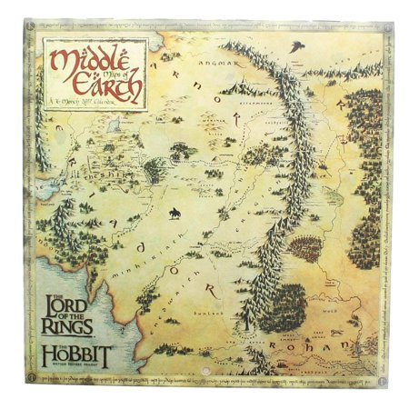 Map Of Middle Earth The Hobbit on