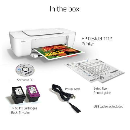 HP DeskJet 1112 Compact Printer (F5S23A) - Best Inkjet ...