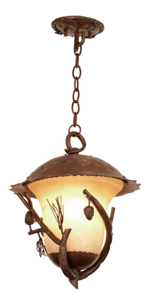 Ponderosa Ponderosa Outdoor 3 Light Large Hanging Lantern by Kalco Lighting