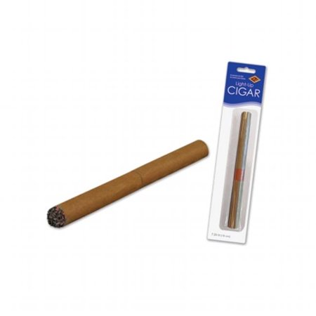 Beistle Company 59861 Light-Up Cigar - Red Led (Best Way To Light Cigar)