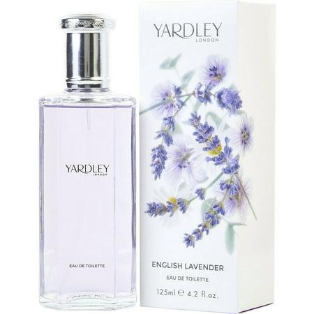 English Lavender Eau De Toilette Spray (Unisex) By Yardley London 4.2