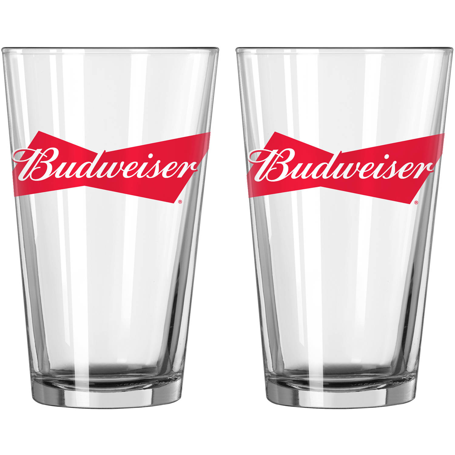 Budweiser Pint Glasses, 2pk by Boelter Brands