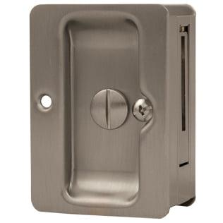 Stone Harbor Hardware, Tall Pocket Door Lock, HL82304 Locks For Pocket Doors