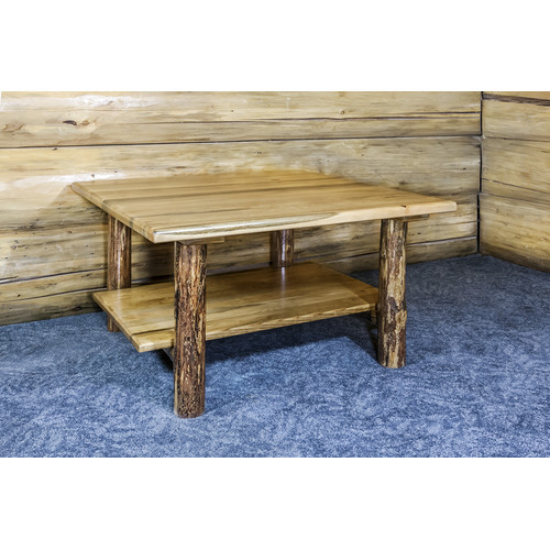 loon peak tustin cabin wooden coffee table - walmart