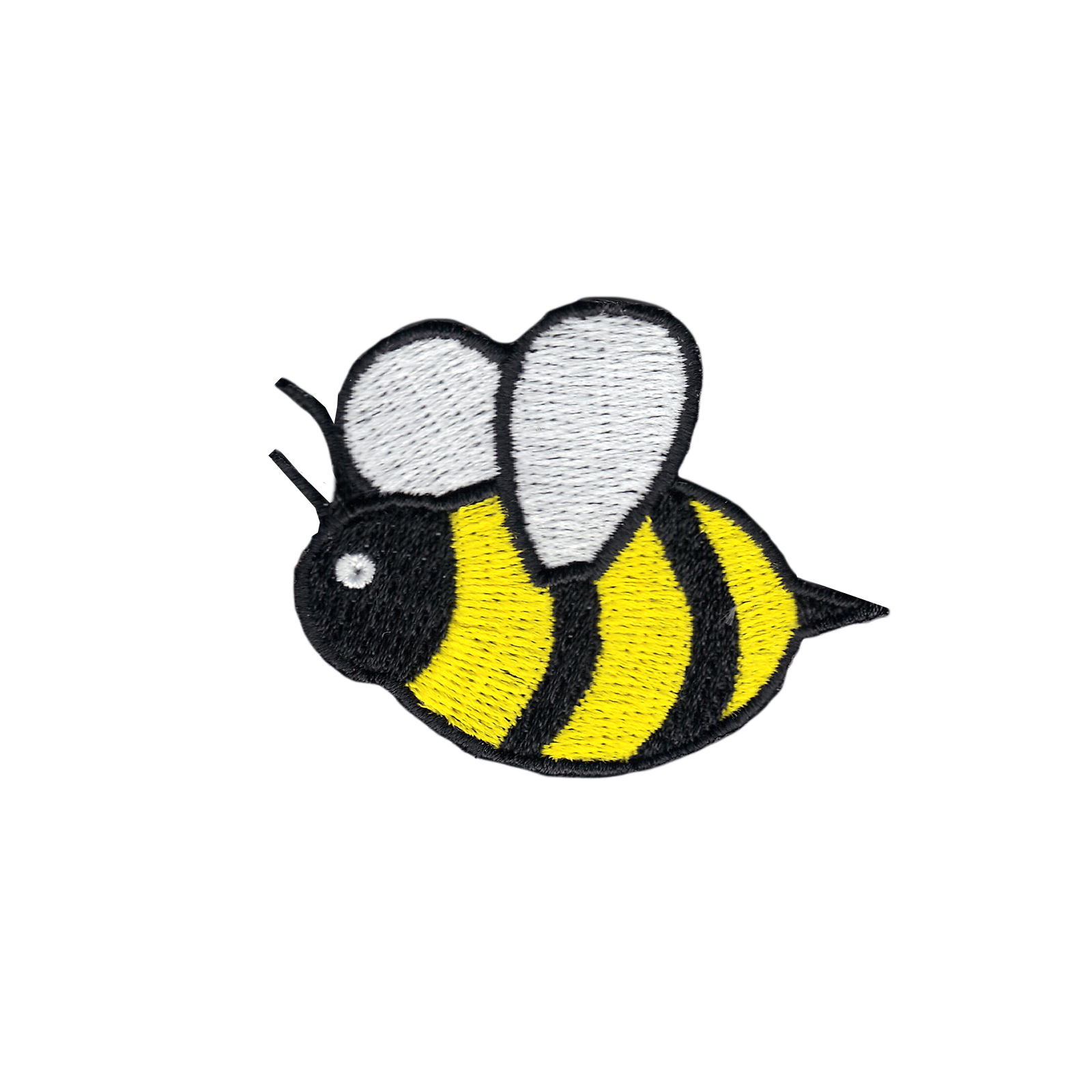 Bee Iron On Applique Patch