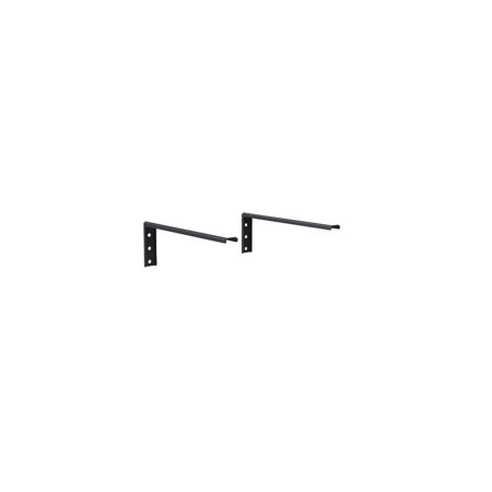 mountplus 1428 component shelf wall mount for dvd, vcr, cable box, dds box, blu-ray player, ps3, ps4, xbox, av