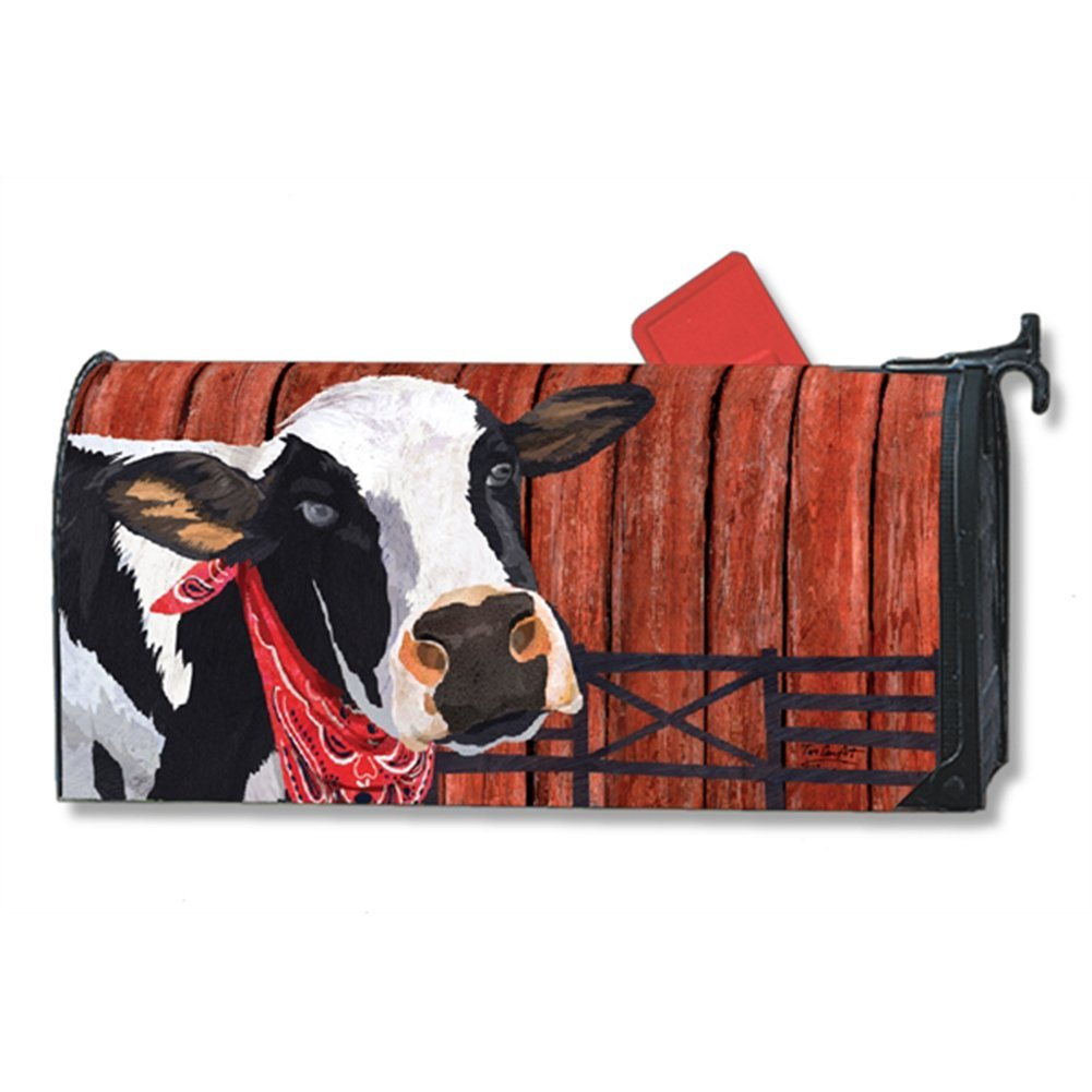 Down on the Farm Magnetic Mailbox Cover - LARGE SIZE, Sho...