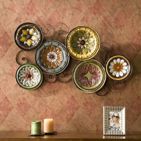 Italian Plates Wall Art - 22.5