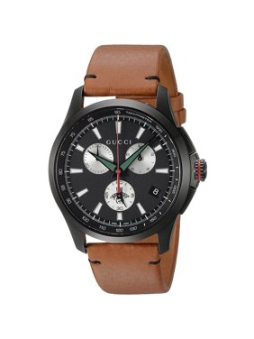200daa568 Product Image G-Timeless Leather Chronograph Mens Watch YA126271
