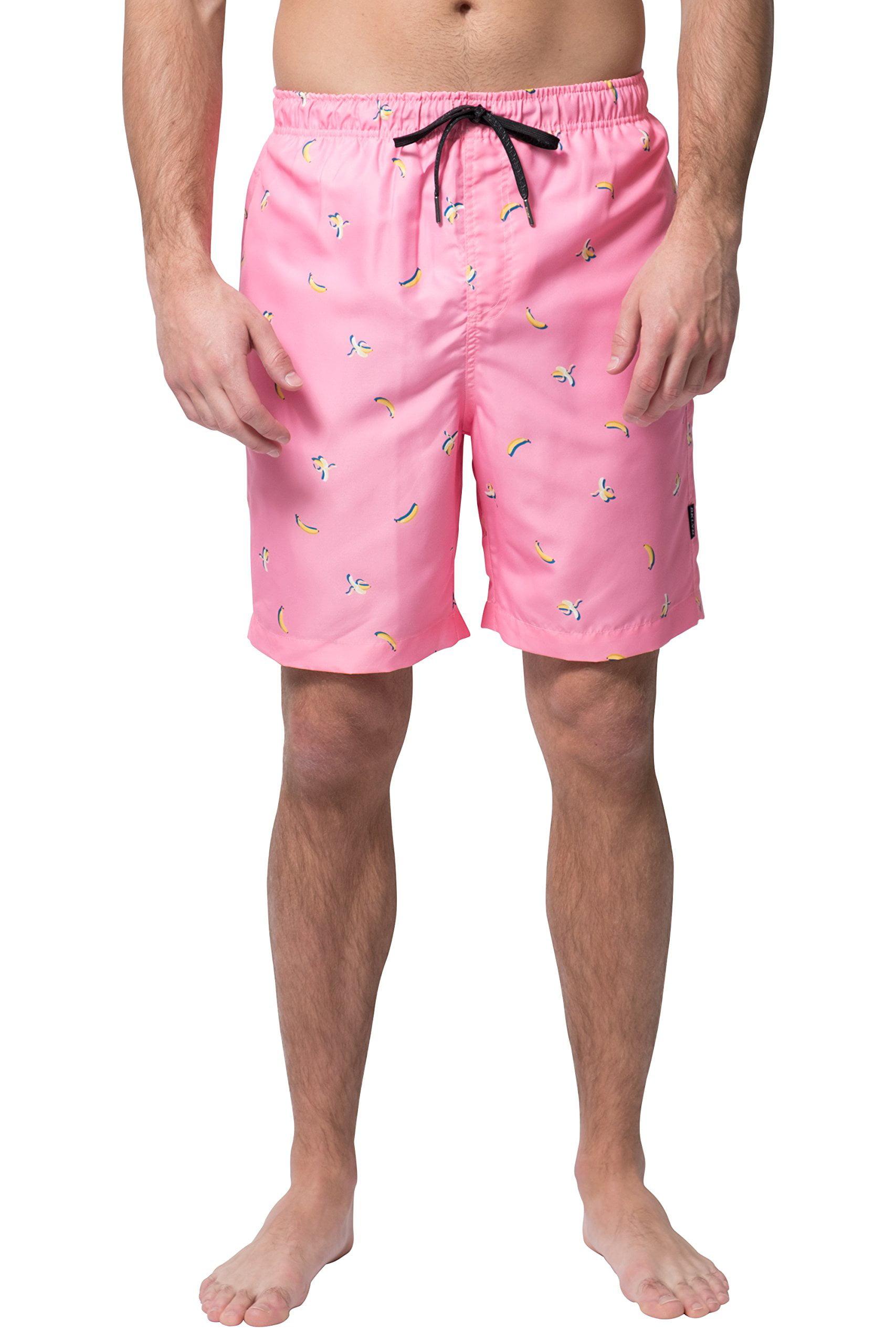 DDYJ Paint Splatters Boardshorts Mens Swimtrunks Fashion Beach Shorts Casual Shorts Swim Trunks