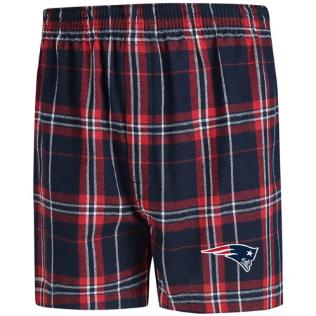 New England Patriots Concepts Sport Hillstone Flannel Boxers - (Boxer Puppies For Sale In New England)