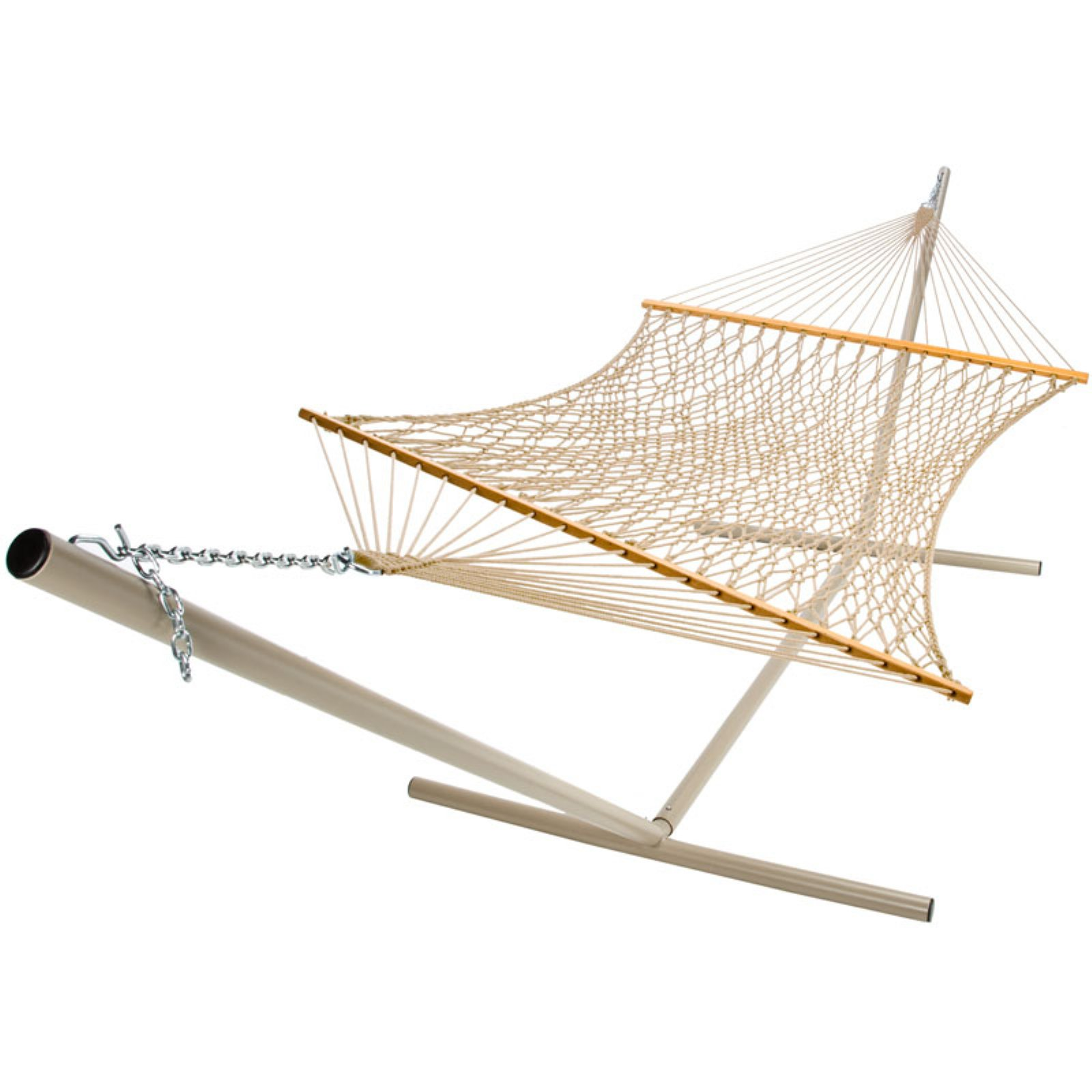 Castaway Deluxe Polyester Rope Hammock by Supplier Generic