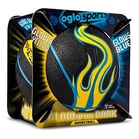 Sports - Glows Yellow Glows Blue - Glow In The Dark Basketball, Oglo Sports By Oglo