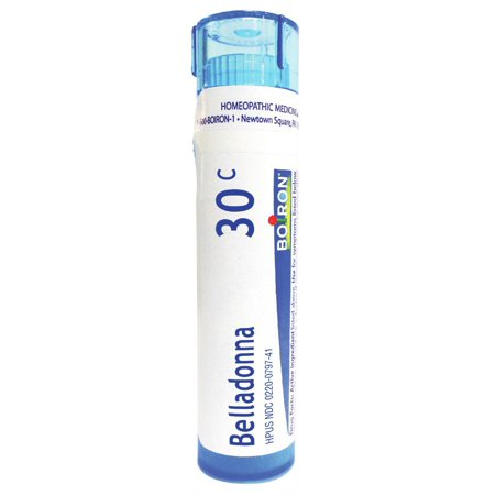 - Belladonna 30C Boiron 80 Pellet