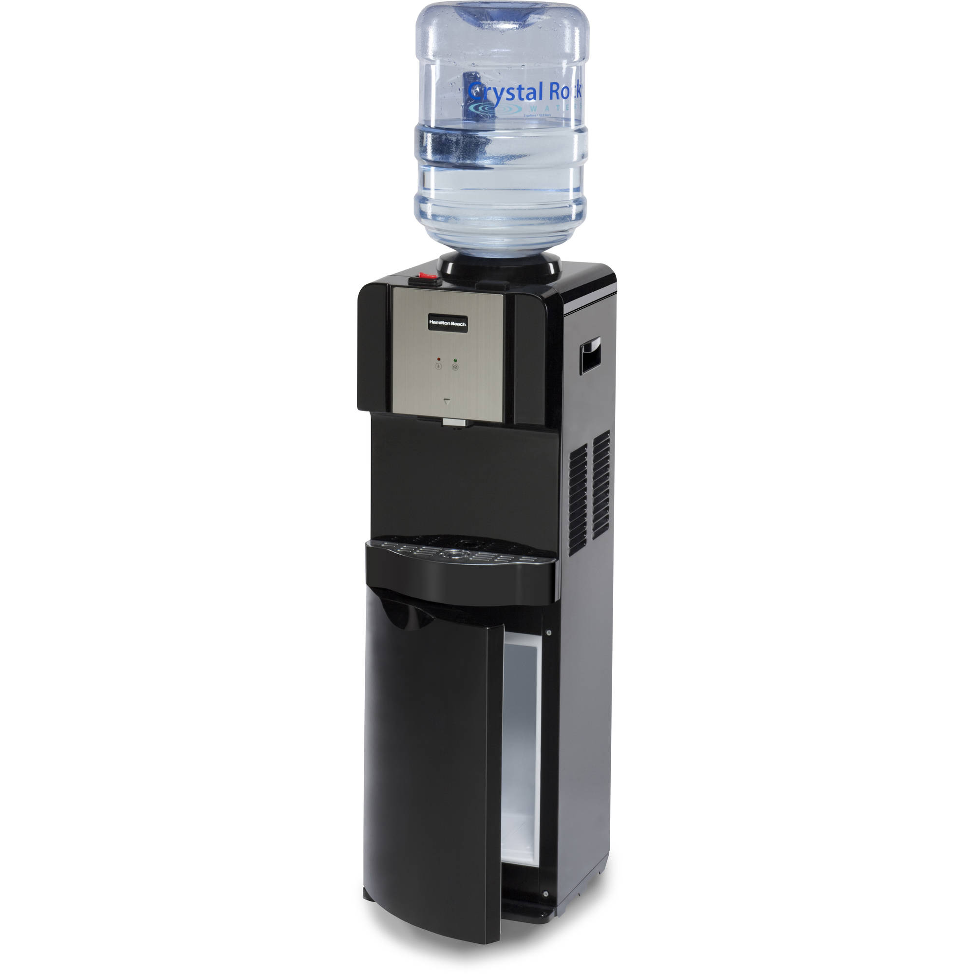 Hamilton Beach TL-5-4W Top Loading Water Dispenser with Storage ...