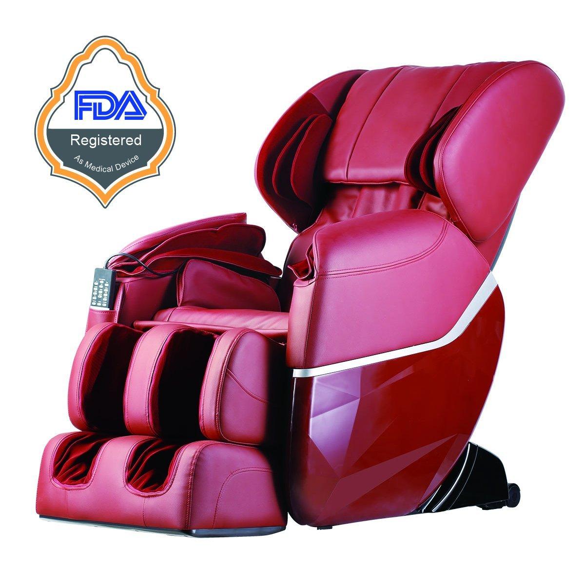 New Electric Full Body Shiatsu Massage Chair Recliner Zero