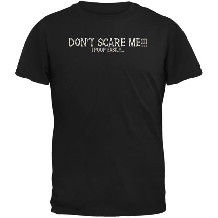 Halloween Scare Poop Easily Black Youth T-Shirt](Halloween Jump Scare Prank)