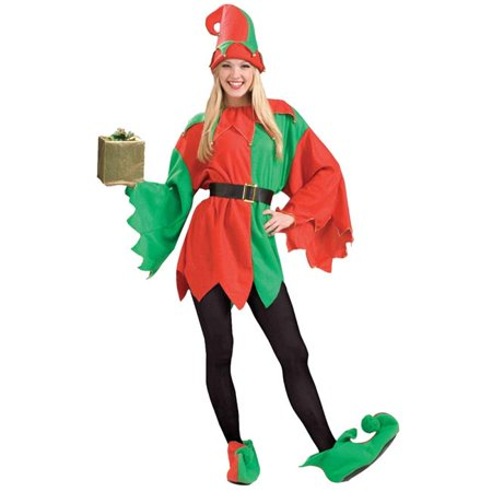 Morris Costumes FM62596 Santas Helper Elf Adult Costume - Helper Elf