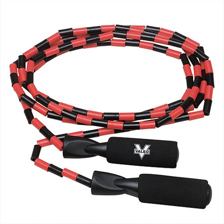 Valeo Beaded Jump Rope  Multi Color